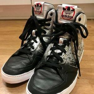 Adidas X rita ora planetary power sneakers